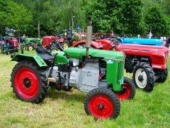 Oude tractoren en Vier kalle Plat